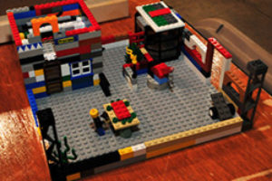 YBA Home Show - Kidz Zone Lego Competition